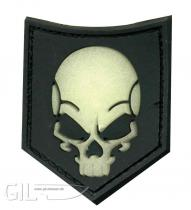 JTG SOF Skull Ghost Velcro patch