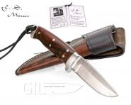 Franz Sieber Vollintegral Messer Böhler M390 Microclean 2380/9 Cocobolo