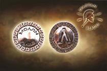 Spartan Blades - Shield Bead